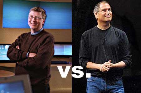 Jakarta - Steve Jobs dan Bill