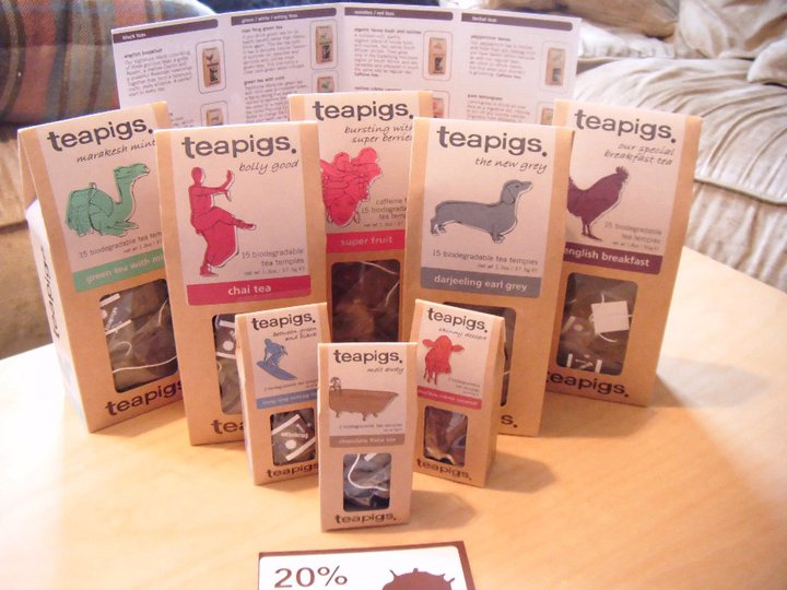 Tea Pigs Chocolate Mint