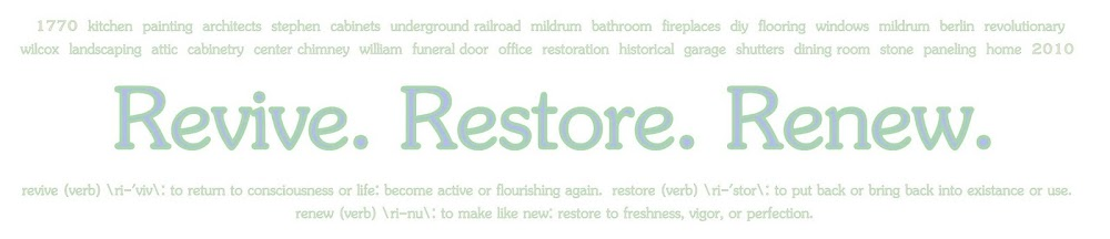 Revive. Restore. Renew.