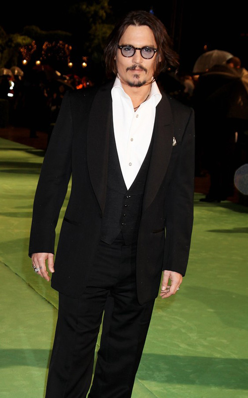 Johnny Depp Alice in Wonderland Premiere