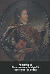 Rey Fernando VII de Borbón