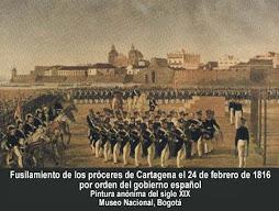 Fusilamiento de los Proceres de Cartagena