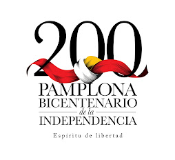Logotipo del Bicentenario de la Independecia de Pamplona