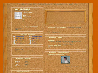 plain myspace layouts
