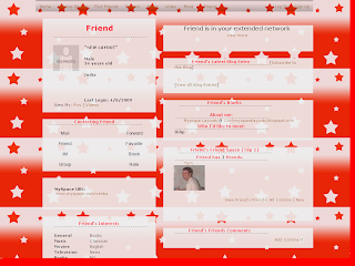 Star Myspace Layouts