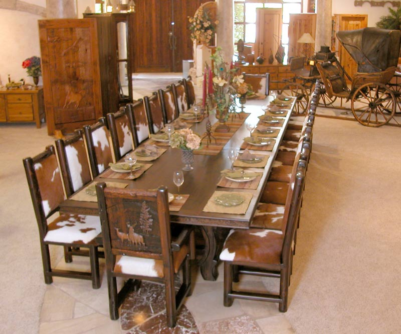 Mesas de jantar luxo e sofistica o luxos e luxos for Big dining room ideas