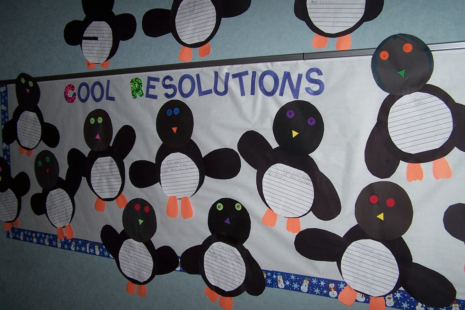 Bulletin board ideas for january for kindergarten