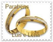 O Celle Ornamental felicita o casal  de amigos,  nesta data especial!