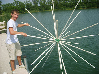 Herman brothers blog fun fishing and fish structure pics for Porcupine fish attractor