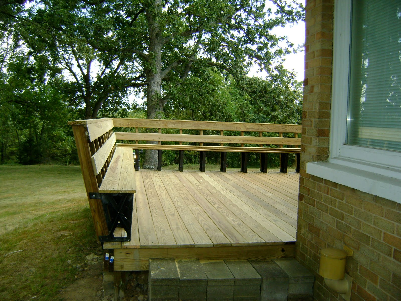Herman brothers blog shark doves ponds food plots and for Ready made decking frame