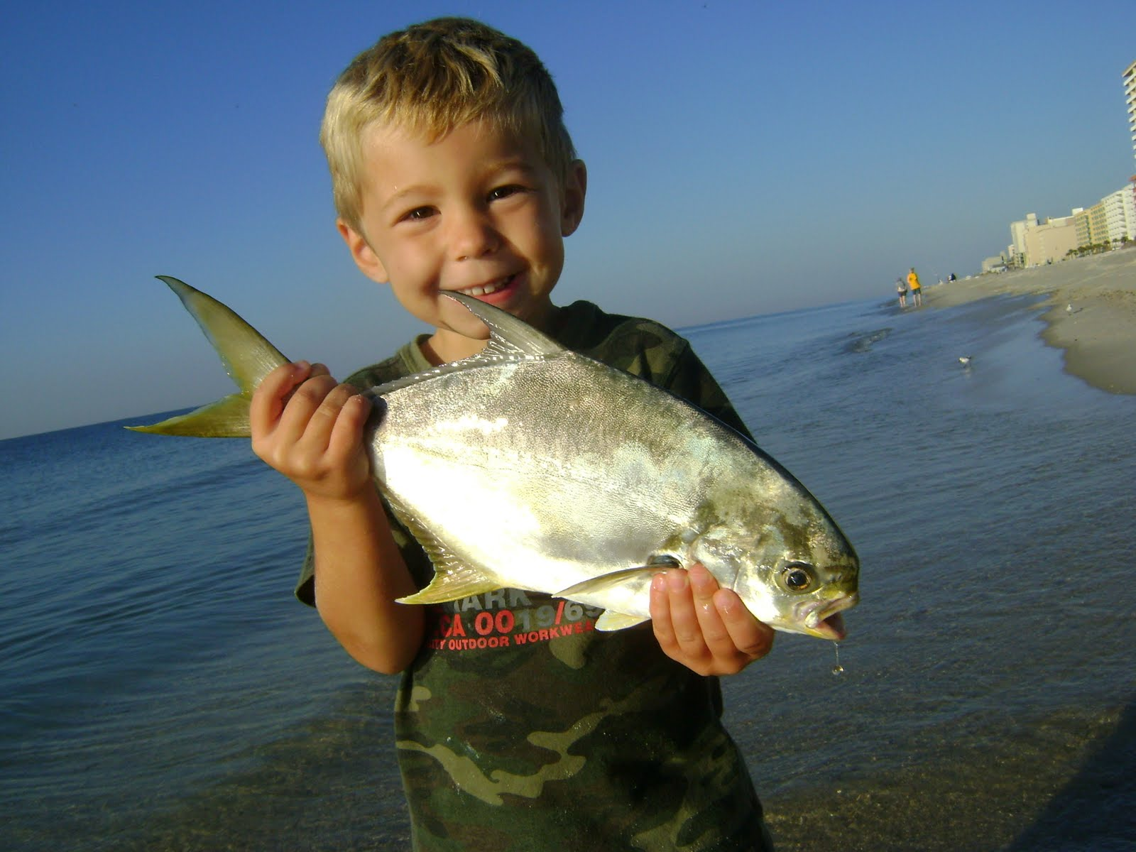 Herman brothers blog gulf shores trip day two for Pompano fish good to eat