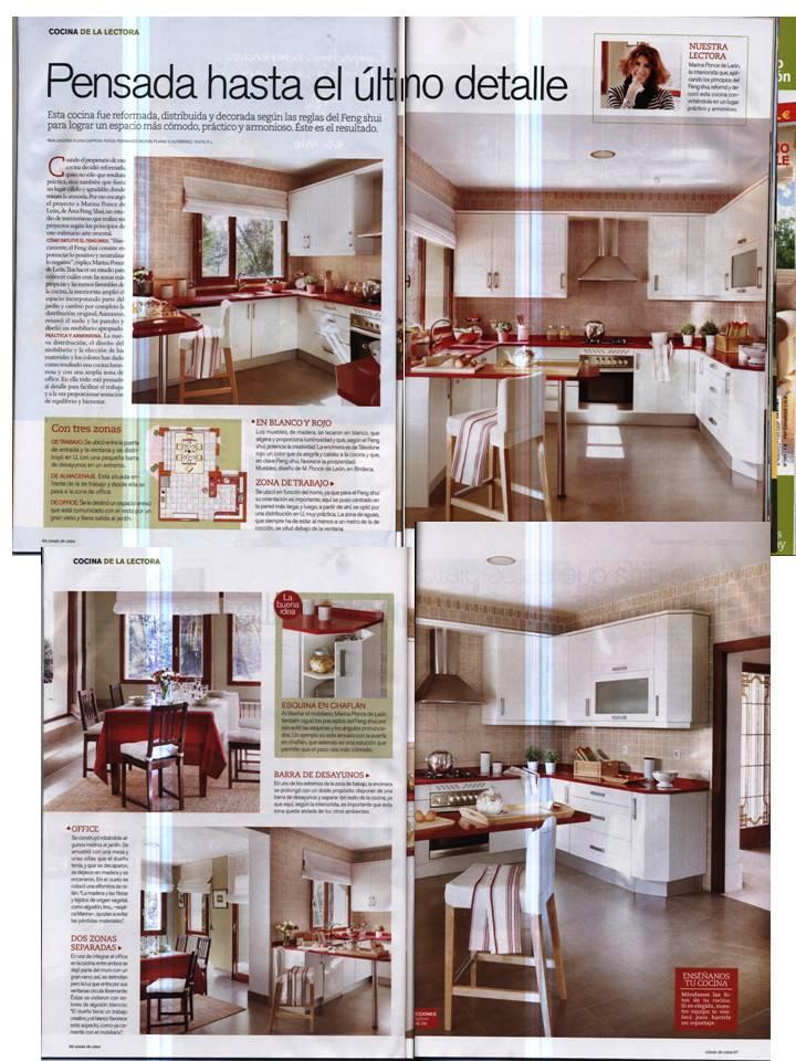 El blog de rea feng shui las cocinas feng shui son for Casa feng shui ideal