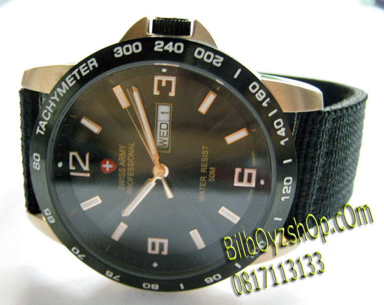 harga jam swiss army original on SWISS ARMY PROFESIONAL ROSEGOLD