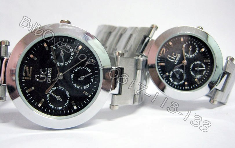 jam tangan gc on SPECIAL OFFER GC COUPLE 3CB STAINLESS