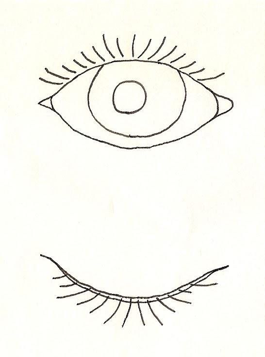 design practice  eye opening  closing  moving test