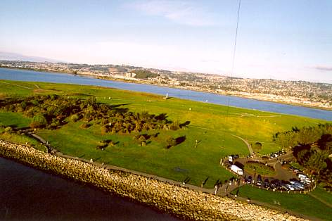 Kite Photo Cesar Chavez Park - Prof. Cris Benton