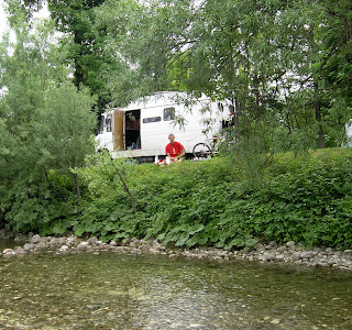 Campsite by the River
