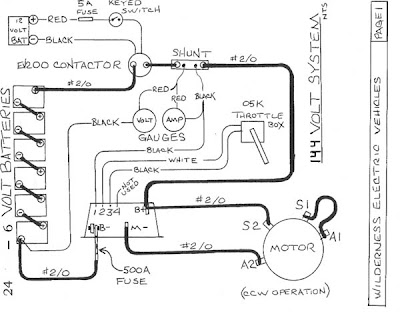 electric vw bus blog  schematic