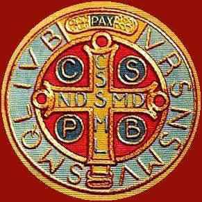 La Sagrada Cruz sea mi Luz No sea el dragón mi guía