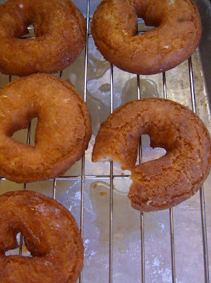 Apple Cider Spice Doughnuts - Our Best Bites