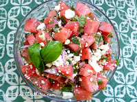 Fresh Herb and Watermelon-Feta Salad