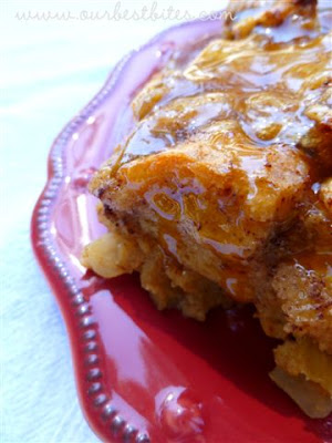 Caramel Apple Bread Pudding - Our Best Bites
