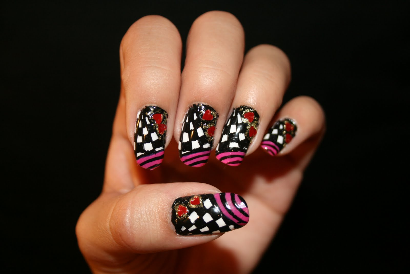 Nail Art Pen Designs - Short Nail Designs