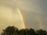 Rainbow During A Storm