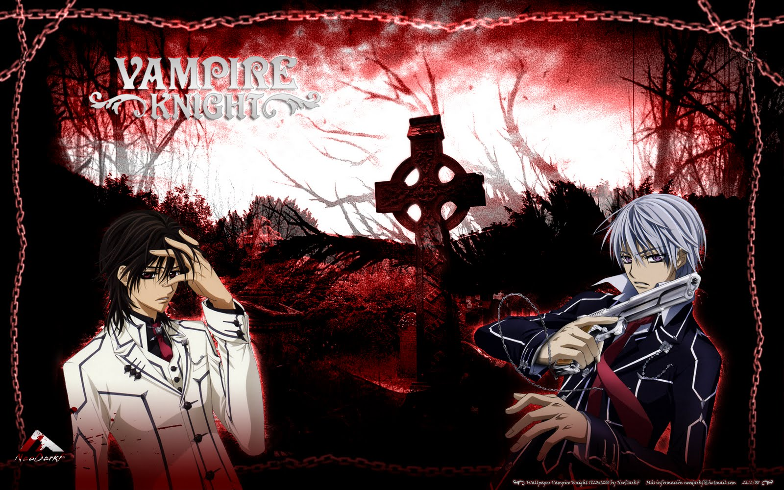 wallpapers do vampire knight para o teu computadorVampire Knight Wallpapers