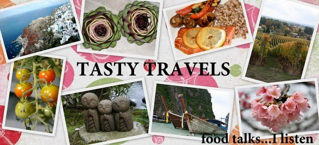 Tasty Travels... food talks, I listen