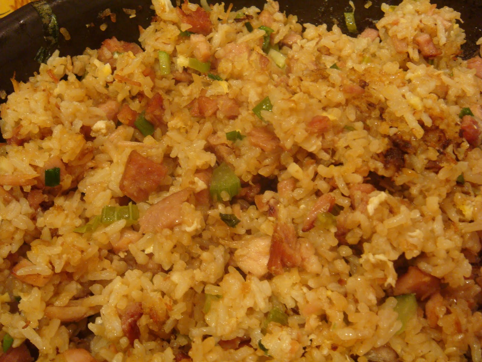 Gourmet Gibbs: Ham Fried Rice