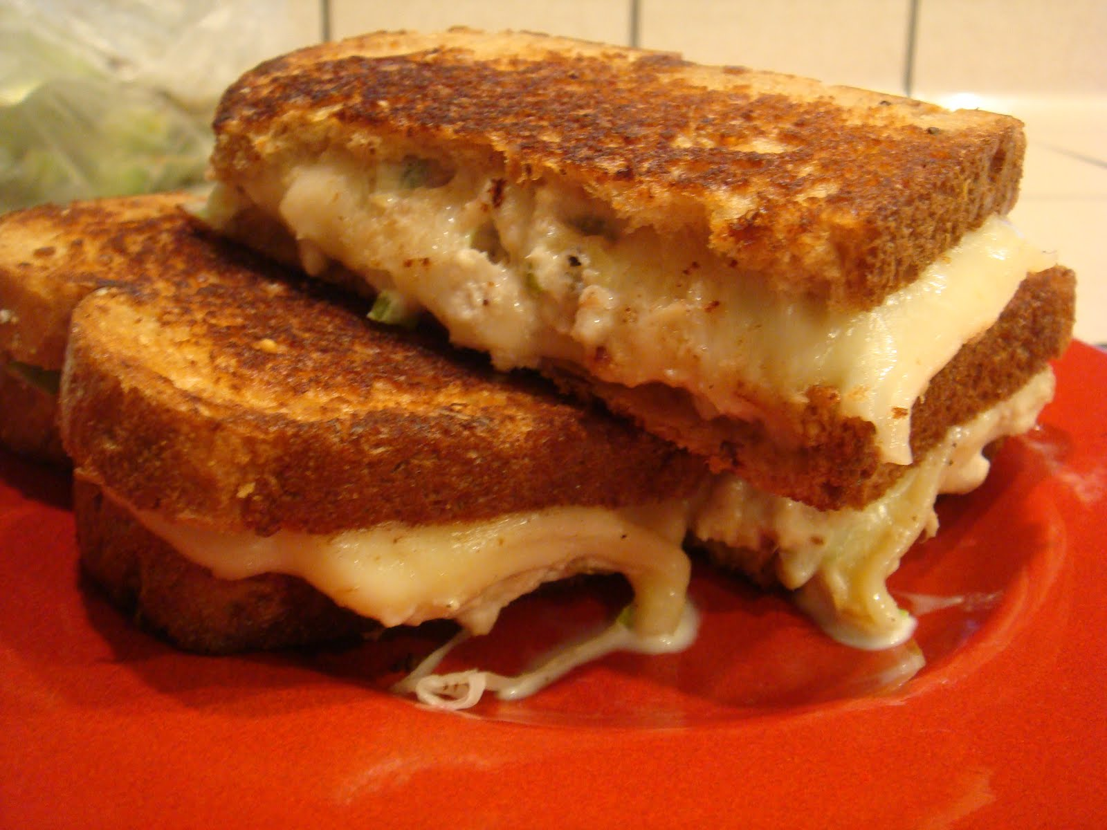 Gourmet Gibbs: Grilled Tuna Melt Sandwiches