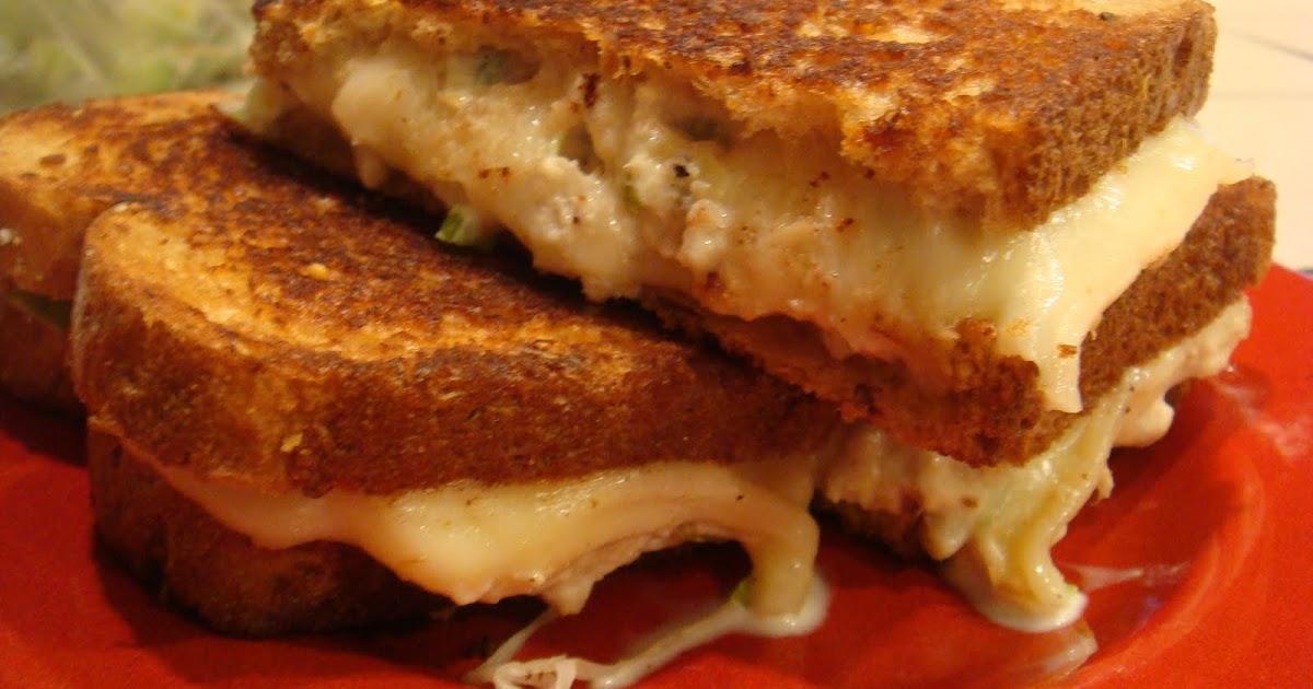 Gourmet Gibbs: Grilled Tuna Melt Sandwiches
