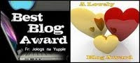 My Very First Blog Award!
