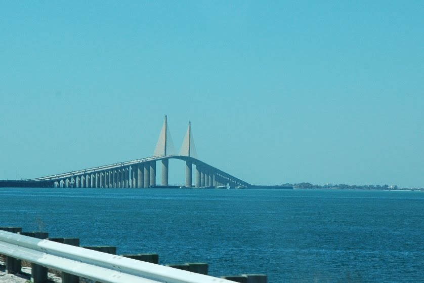 Me and you and ellie the lap of luxury for Sunshine skyway fishing pier