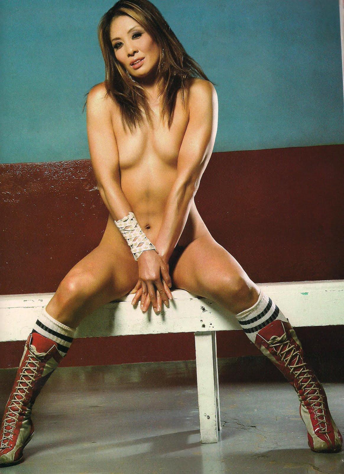 Jill monroe lucha desnuda