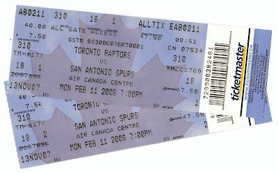 Ticket Stub Confessions