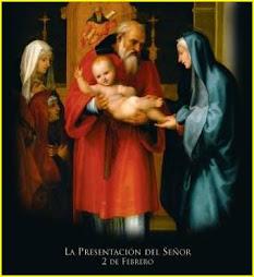 """""""llevaron al niño a Jerusalén para presentarlo al Señor"""""""