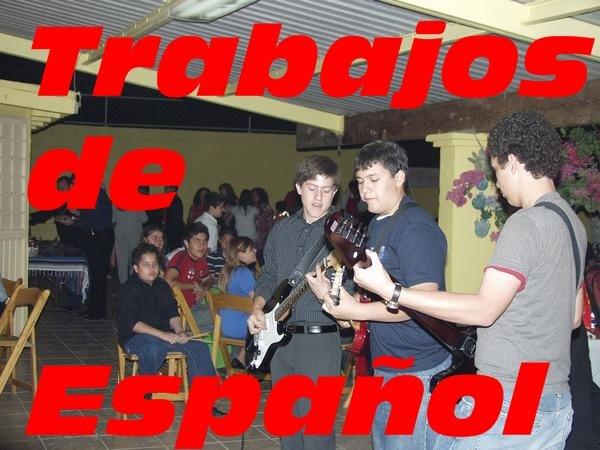 Trabajos de español