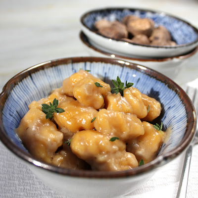 Butternut Squash Gnocchi with Whiskey Cream Sauce - A Spicy ...