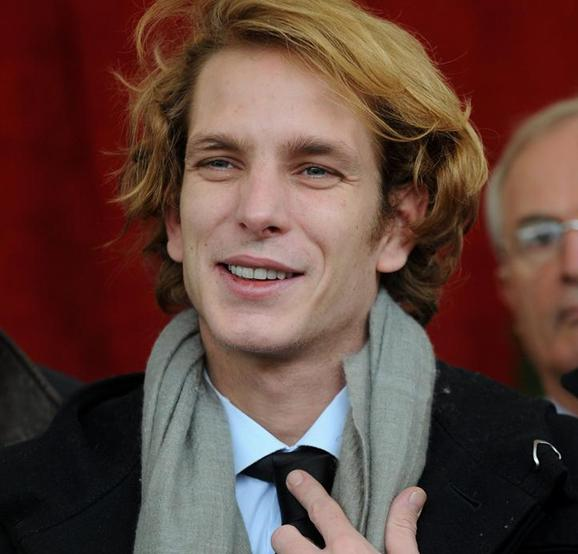 pierre casiraghi 2009. and son Andrea Casiraghi