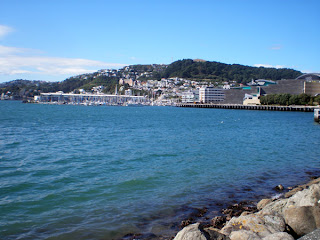 sunny Wellington in march