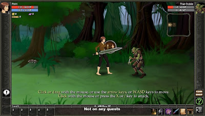 ShadowTale browser MMO, MMORPG