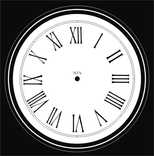 Faces of Clocks (16th Violent Verse of 2010)   CONFESSION ZERO