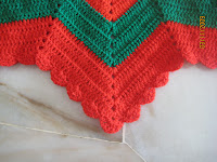 crochet christmas tree skirt on Etsy, a global handmade
