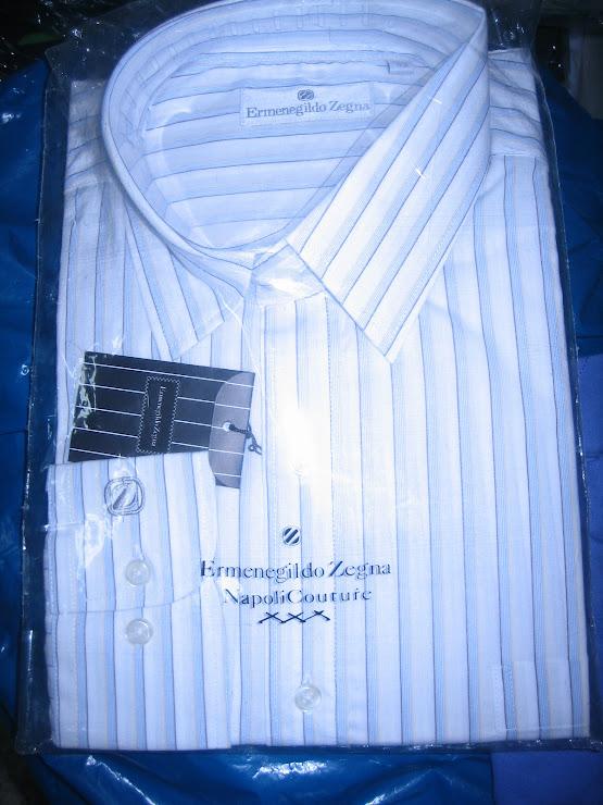 CAMISA ERMENEGILDO ZEGNA TALLAS COLORES MODELOS VARIOS - MUY DEL 2010 USADO MUCHO EN BRASIL