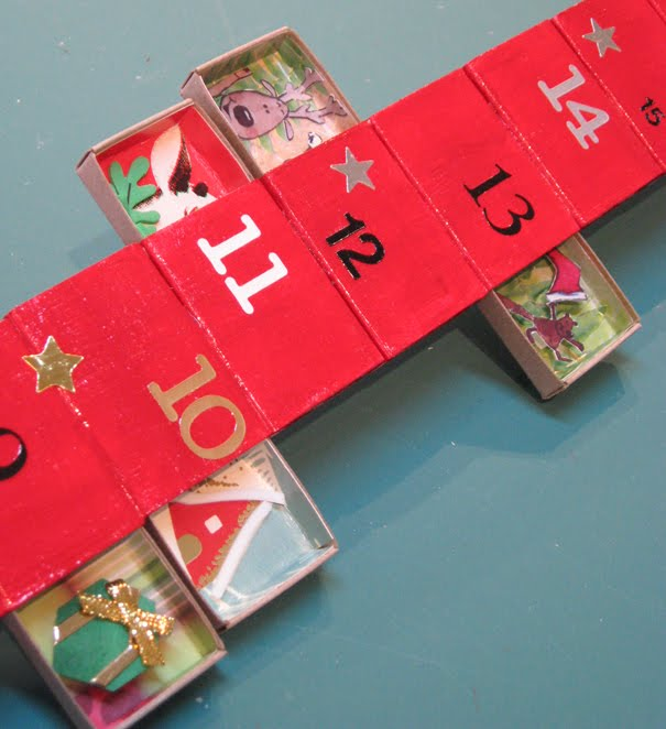 Diy Matchbox Advent Calendar : The matchbook demo matchbox advent calendar