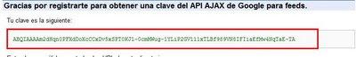 Clave API