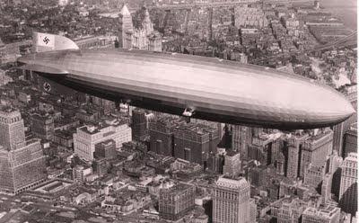dirigible aerostato Hindenburg