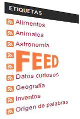 feed etiquetas